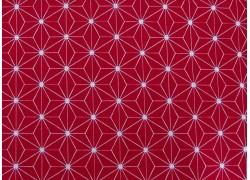 Stoff Sterne rot weiß