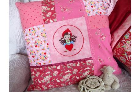Kinderkissen rosa pink