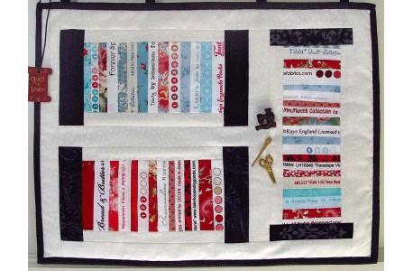 Freebie Webkanten Mini-Quilt