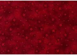 Sternchenstoff rot Patchworkstoff