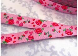Webband Rosenband rosa Farbenmix