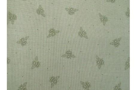 Patchworkstoff Kinderstoff Bienchen grün