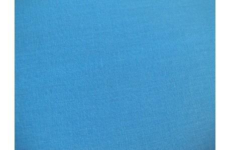 Patchworkstoff mittleres blau uni