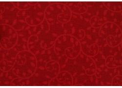 Weihnachtsstoff Ranken rot