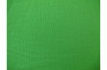 Patchworkstoff uni mai grün