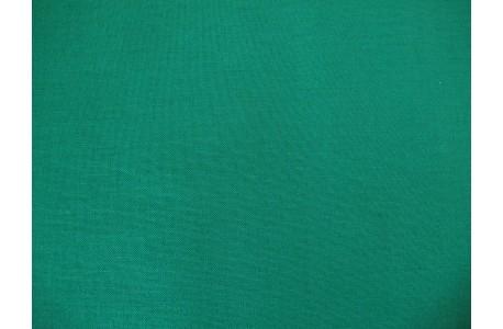 Patchworkstoff uni smaragd grün