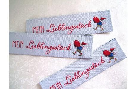Web-Etiketten Mein Lieblingsstück