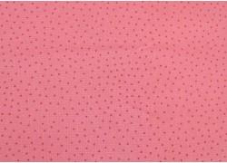 Wachstuch Pünktchen rosa