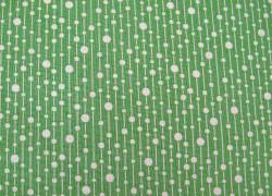 Stoff Tilda Punkte grün