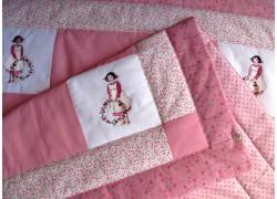 Krabbeldecke Kinderdecke rosa