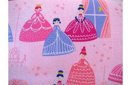 Patchworkstoff Prinzessin rosa pink Moda
