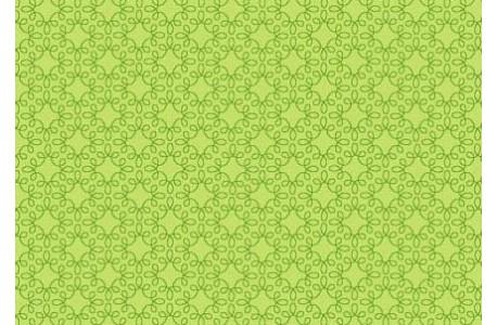 Fat Quarter Ornamentstoff hell grün