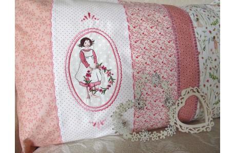 Kissen Elfe rosa
