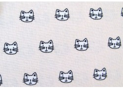 Stoff Katzen Whiskers & Tails Patchworkstoff
