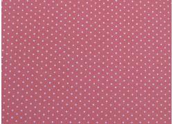 Stoff Punkte antik rosa Petit Basics