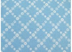 Stoff Sterne blau weiß Winter Tales