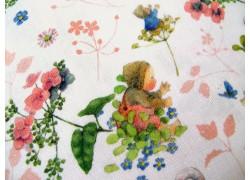 Daniela Drescher Baumwollstoff Blütenbabys