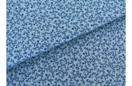 Stoff blau Ranken Mrs. Millers Apprentice