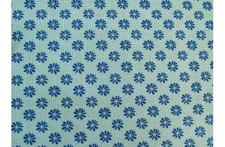 Stoff Blumen blau Floral Dot Liberty
