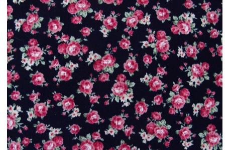 Patchworkstoff Rosen Bouquet