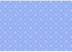 Fat Quarter Ornamentstoff hell blau