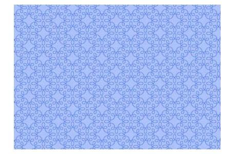 Fat Quarter Ornamentstoff hell blau