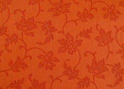 Patchworkstoff orange Color Wall