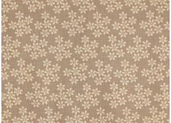 Fat Quarter sand beige Blumenstoff