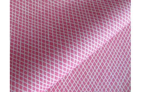 Tilda Stoff Rauten rosa Crisscross