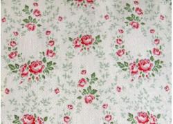 Tilda Stoff Röschen creme rosa Old Rose Lucy