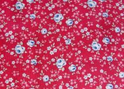 Tilda Stoff Röschen rot Old Rose Eliza