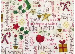 Patchworkstoff Weihnachten Christmas Elves