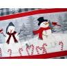 Patchworkstoff Schneeman Snowy Wishes