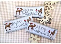 Web-Etiketten AUS MEINER Textilwerkstatt