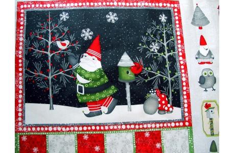 Adventskalender Panel Debbie Mumm Weihnachten