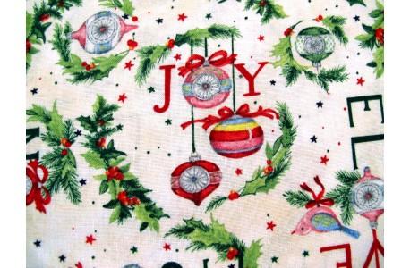 Patchworkstoff Weihnachten The Joy of Giving