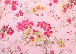Patchworkstoff Geranien rosa Durham Anew Collection