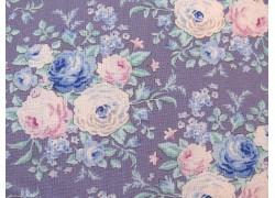 Tilda Stoff Röschen lila Old Rose Lyda Lavender