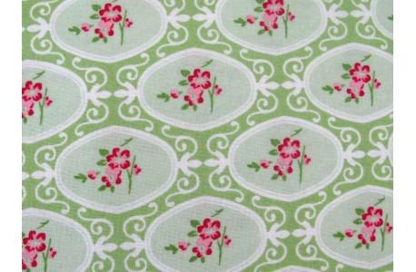Patchworkstoff Tanya Whelan Charlotte grün