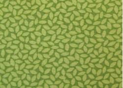 Designerstoff Moda Blätter grün Orchard