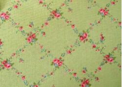 Rosenstoff Moda Brenda Riddle grün Quiltstoff