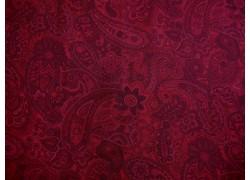 Rückseitenstoff Paisley rot Patchworkstoff Bella Suede Wide