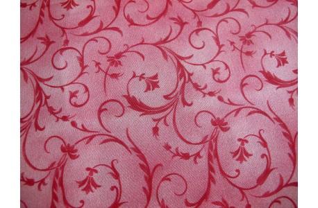Rückseitenstoff Ranken rosa Patchworkstoff Beautiful Backings