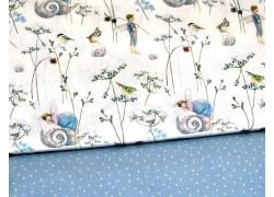 Stoffpaket Daniela Drescher Stoffe Elfen blau 72033
