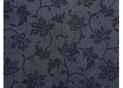 Designerstoff Blumenstoff grau Colorwall Patchworkstoff