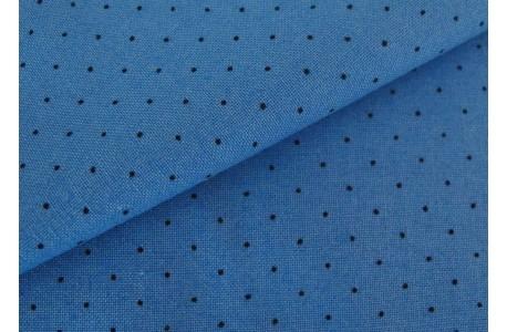 Stoff Pünktchen blau American Jane Moda Patchworkstoff