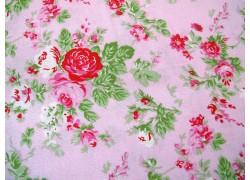 Rosenstoff rosa Quiltstoff Delilah von Tanya Whelan