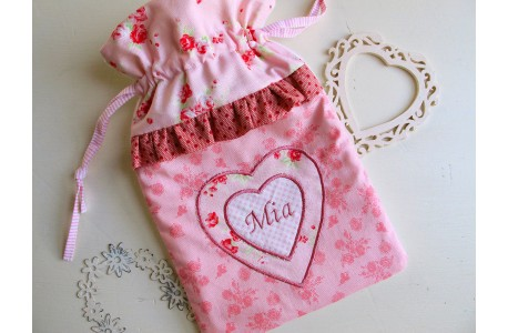 Wärmflaschenbezug rosa