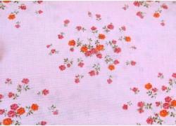 Patchworkstoff Blumenstoff rosa Autumn Grace