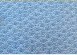 Designerstoff blau Lynette Anderson Patchworkstoff